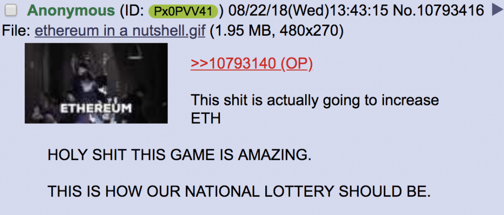 Someone Won $3 Million Jackpot in Ethereum Ponzi Game Fomo3D
