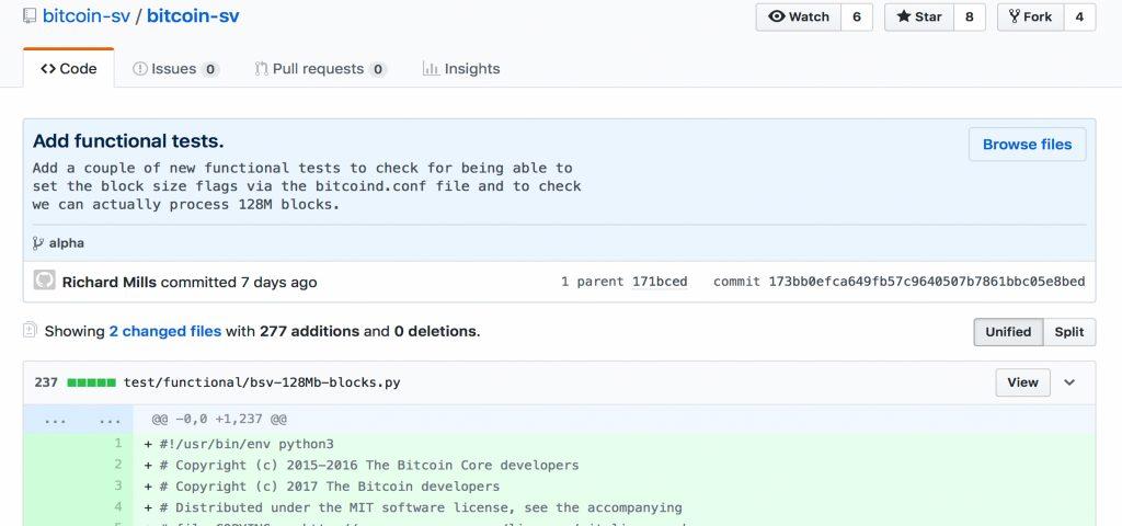 Nchain Publishes Bitcoin SV Alpha Release