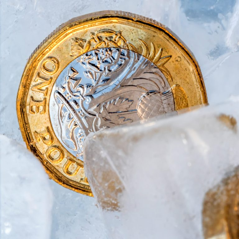 uk. bank funds frozen