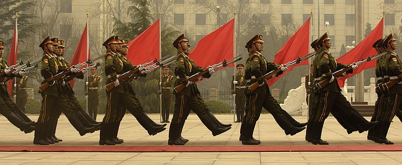 800px Chinese honor guard in column 070322 F 0193C 014