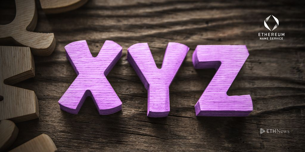 XYZ Now Supported By ENS 09 05 2018