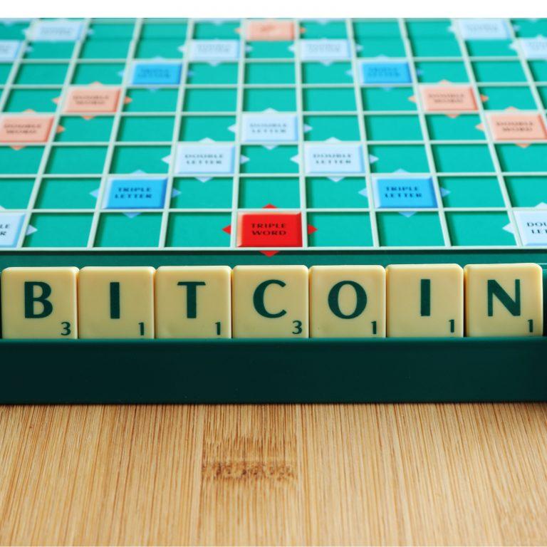 bitcoin scrabble