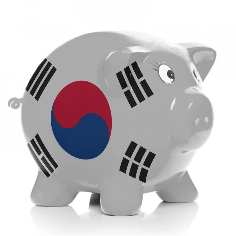 korean bank banner