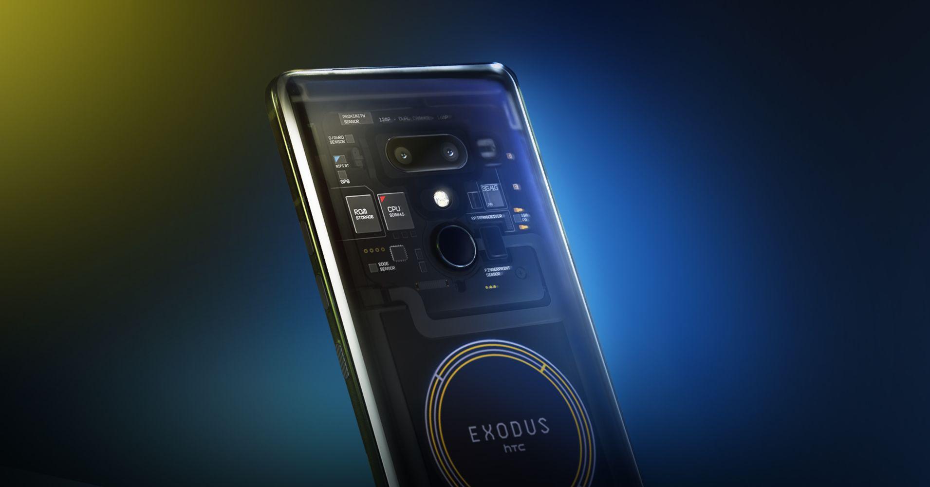 HTC Blockchain smartphone