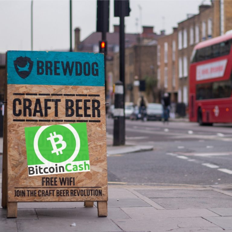 Brewdog Brand Welcomes Bitcoin Cash 8