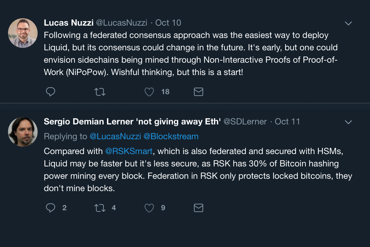 Bizarro World: Federated Sidechain Technology Promoted Over Nakamoto Consensus