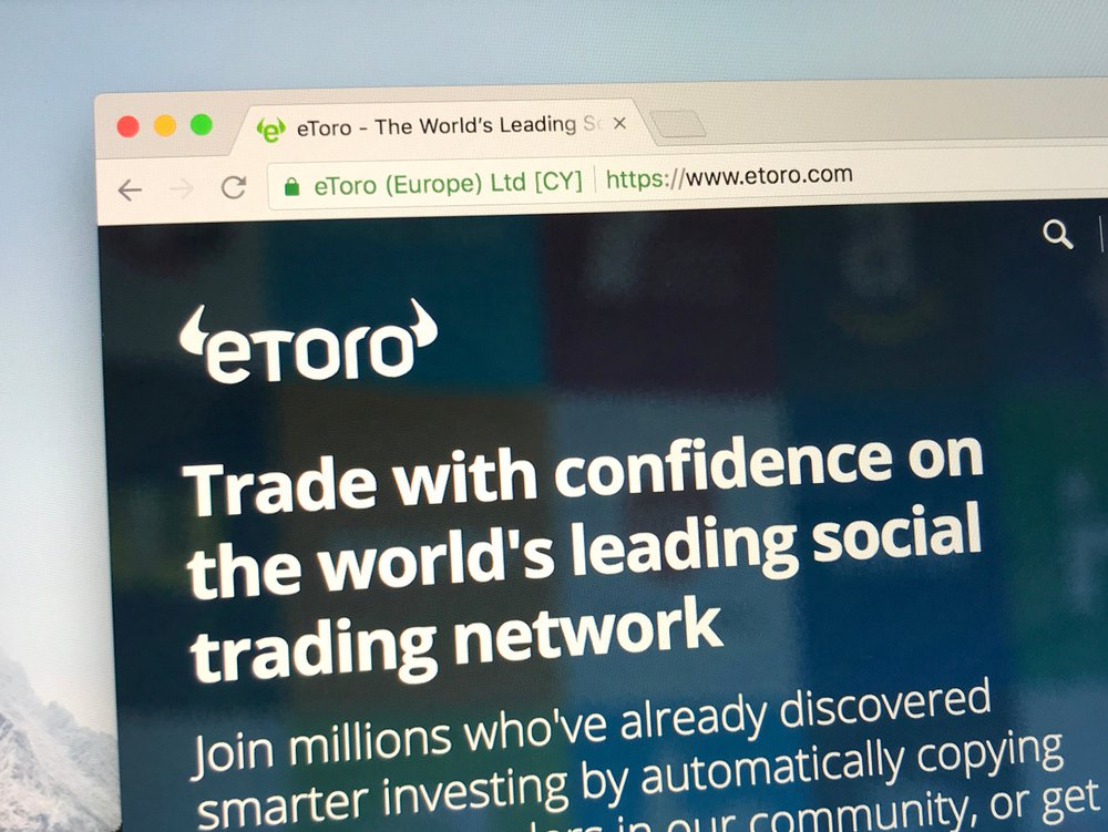 eToro rolls out Crypto Wallet 1