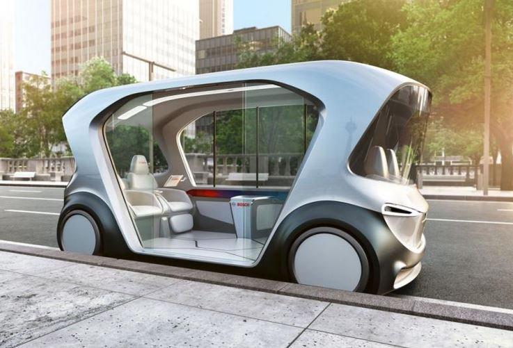 IOTA: Bosch develops autonomous electric shuttle