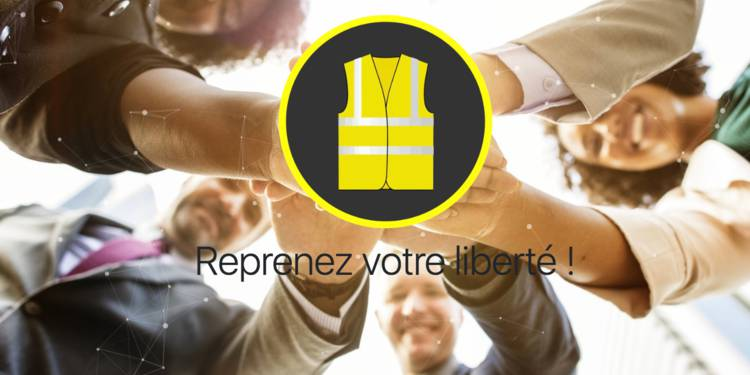 GiletJauneCoin: French yellow vests launch a cryptocurrency