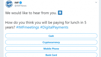 IMF Seeks To Predict Future Payment Tool, Bullish on Cryptocurrency among Traditional Payments 1