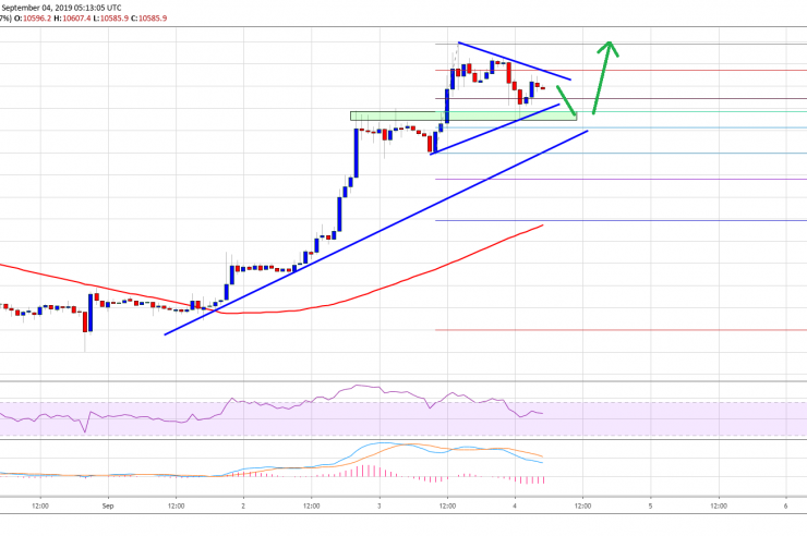 Bitcoin Price (BTC) Surging, Dips Remains Well Supported 1