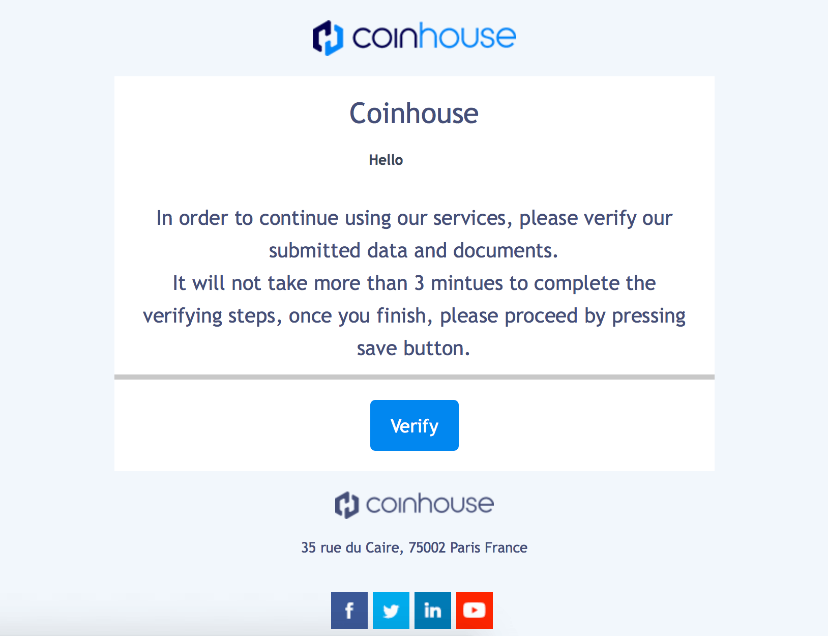 This French Exchange Has Become a Victim of Phishing Attack 2