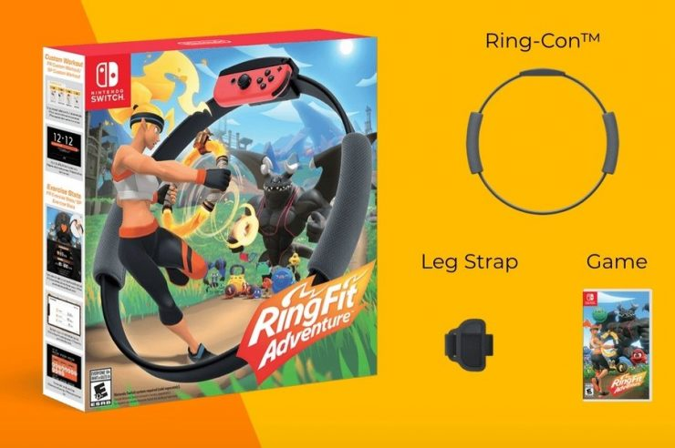 Nintendo 'New Experience' Ring Is a Quirky Fitness Adventure 1