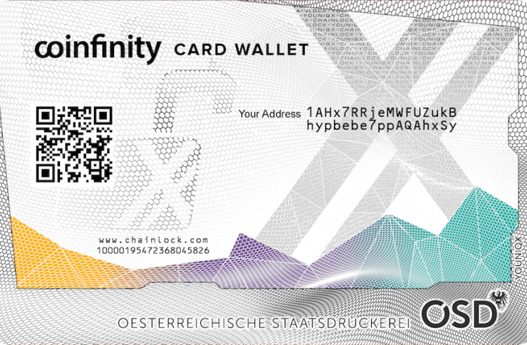 Review: Coinfinity's Card Wallet Provides Tamper-Proof Cold Storage 1