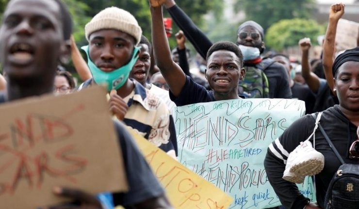 nigeria protest group asks for bitcoin donations after regulators blocks bank account 768x432 1