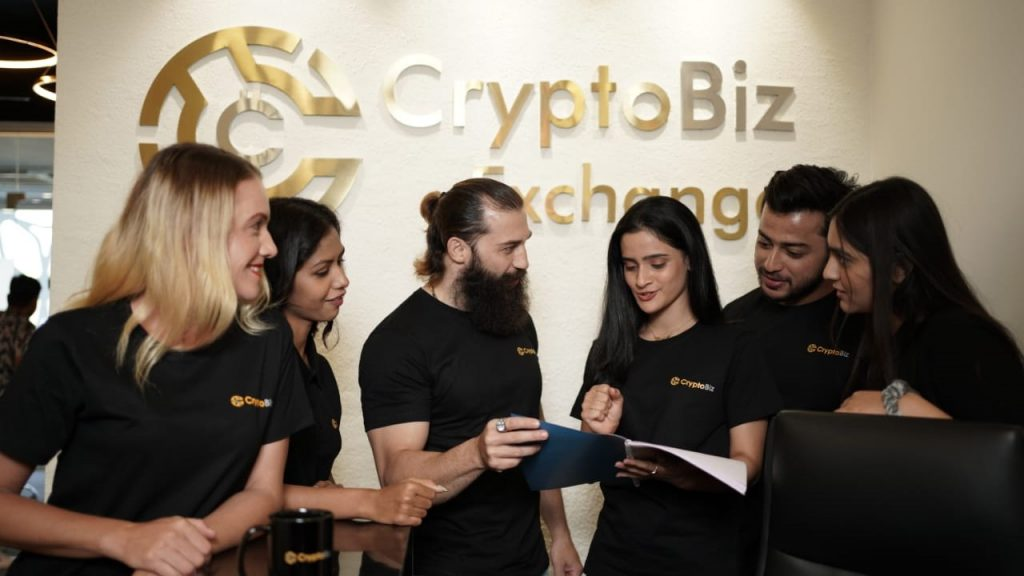 CryptoBiz Exchange Launches in India
