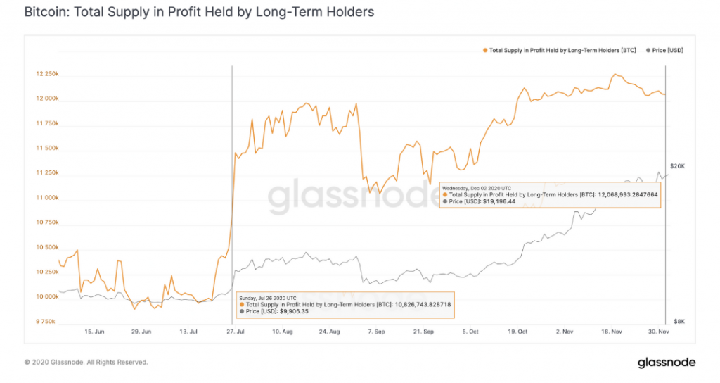 Report: November Sell-off by Long Term BTC Holders Does Not Signal an Approaching Bear Market