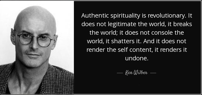 ken wilber quote