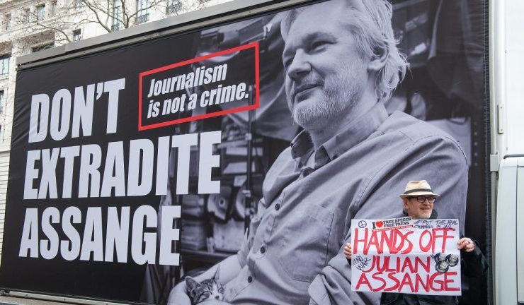 uk judge rejects us extradition requests for julian assange wikileaks holds 800k in crypto 768x432 1