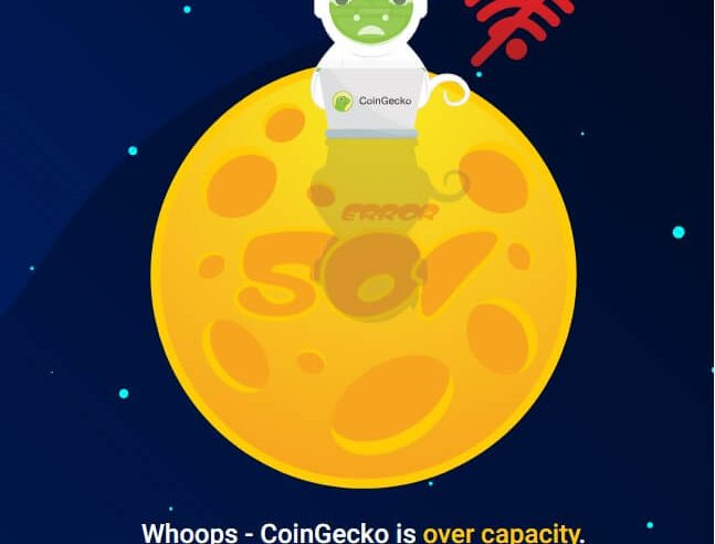 coingecko down