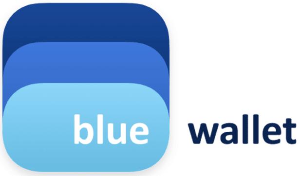blue wallet logo