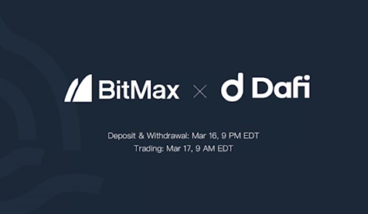 dafi to list dafi token with bitmax 768x432 1