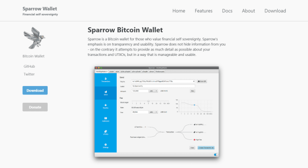 sparrow website 1