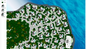 one bequia site plan