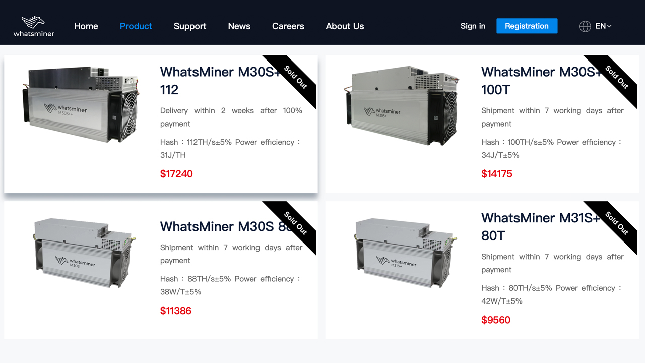BTC Mining Devices 'Out of Stock' Worldwide- 6 Chinese Mining Rig Makers Dominate the ASIC Industry in 2021