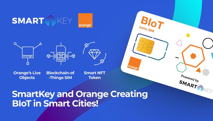 mask smartkey and orange revolutionize the blockchain of things