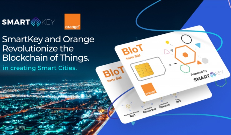 smartkey and orange revolutionize the blockchain of things 768x432 1
